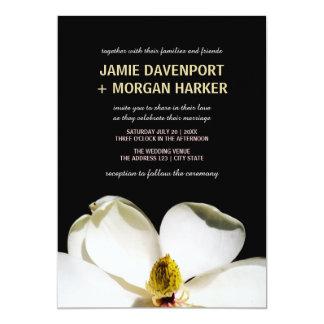 Beautiful Magnolia Wedding Invite