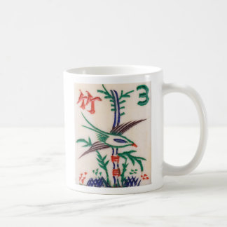 Beautiful Mah Jong Bird, on a mug
