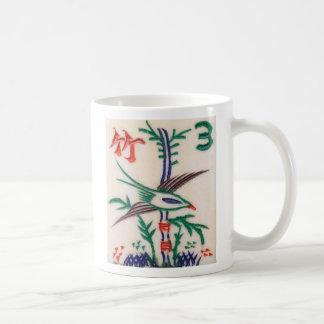 Beautiful Mah Jong Bird, on a mug
