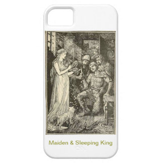 Beautiful Maiden & Sleeping King iPhone SE/5/5s Case