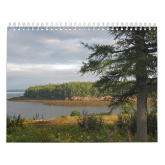 Beautiful Maine Coast Calendar