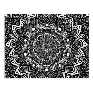 Beautiful Mandala Pattern Post Card