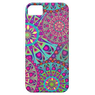 Beautiful mandala print iPhone 5 cases