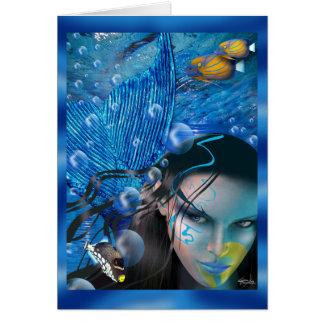 Beautiful Mara Mermaid Card