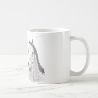 Beautiful Mares Horse Drawings Mugs