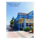 Beautiful Marina Del Rey Postcard! Postcard