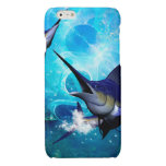 Beautiful marlins glossy iPhone 6 case