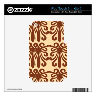 Beautiful Masterful Careful Gregarious Decals For iPod Touch 4G