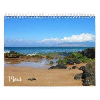 Beautiful Maui Calendar