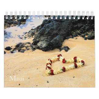 Beautiful Maui Calendar II