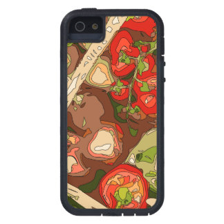 Beautiful Medley of Organic Fruits and Vegetables iPhone SE/5/5s Case