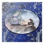Beautiful Mermaid Baby Shower Invitations