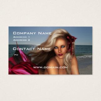 Beautiful Mermaid Business Card
