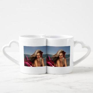 Beautiful Mermaid Coffee Mug Set
