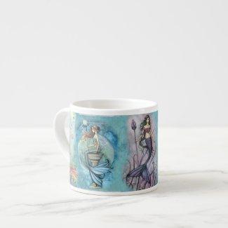 Beautiful Mermaid Espresso Cup