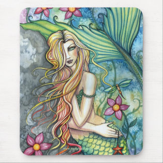 Beautiful Mermaid Mousepad by Molly Harrison