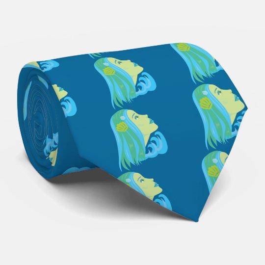 Beautiful Mermaid Neck Tie