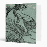 Beautiful Mermaid On The Sea Shore Binder