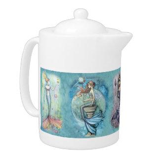 Beautiful Mermaid Teapot
