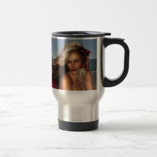 Beautiful Mermaid Travel Mug