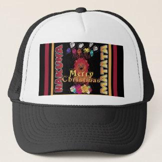 Beautiful Merry Christmas Hakuna Matata Latest Art Trucker Hat