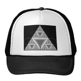 Beautiful Mesmerizing Triangle Fractal Mecho Ant Trucker Hat