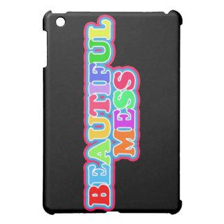 """Beautiful Mess"" in Say What? iPad Mini Covers"