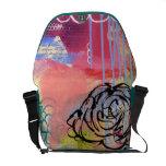 Beautiful Mess Messenger Bag