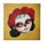 Beautiful Mexican Catrina Ceramic Tiles