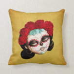 Beautiful Mexican Catrina Pillow