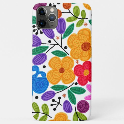 Beautiful Mexican Floral Phone Case