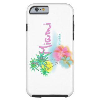 """Beautiful Miami Beach Florida""case Tough iPhone 6 Case"