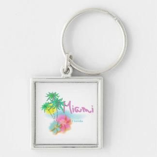Beautiful Miami Florida Keychain