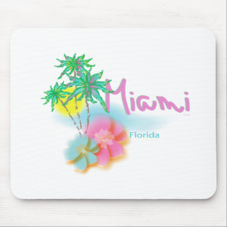 Beautiful Miami Florida Mouse Pad