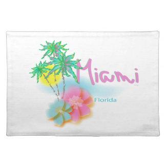 Beautiful Miami Florida Placemat