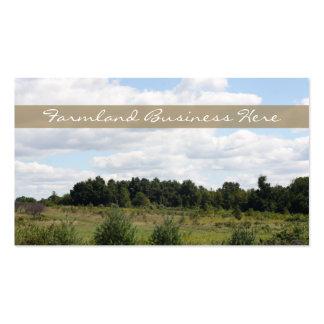 Beautiful Michigan Farmland Landscape Business Card Template