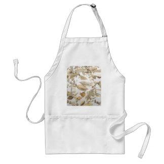 Beautiful microfossils photo pattern adult apron