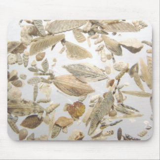Beautiful microfossils photo pattern mouse pad