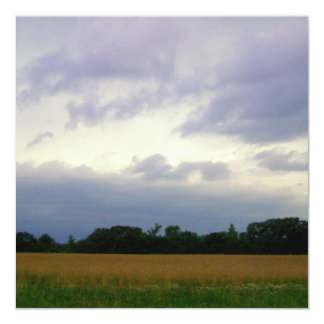 Beautiful Midwestern skies photo for stormy people Card