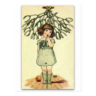 Beautiful Mistletoe by NELLIE BENSON Postcard