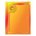 Beautiful modern design personalized letterhead