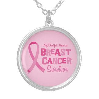 Beautiful Mom Breast Cancer Survivor Jewelry