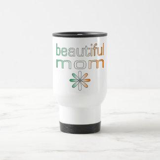 Beautiful Mom Ireland Flag Colors Travel Mug
