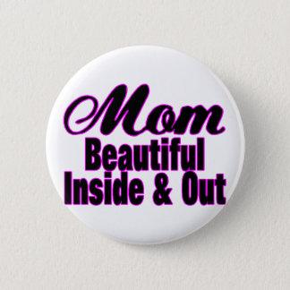 Beautiful Mom Pinback Button