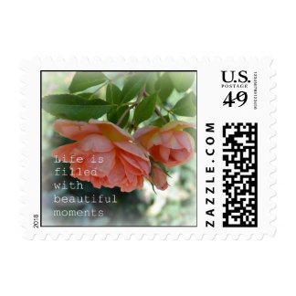 Beautiful Moments Romantic Rose Postage