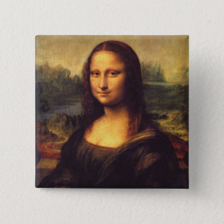 Beautiful Mona Lisa Pinback Button