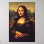 Beautiful Mona Lisa Poster