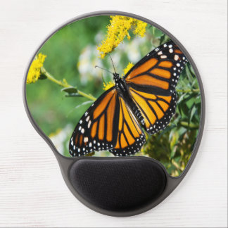 Beautiful Monarch Butterfly Gel Mouse Pad