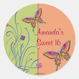 Beautiful Monarch Sticker / Return Address Sticker