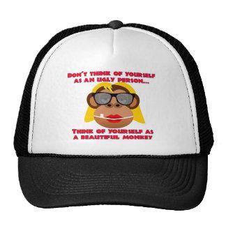 Beautiful Monkey Girl Trucker Hat